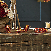 bronze pine cone led bulbs