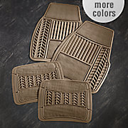 4 pc  car mat set