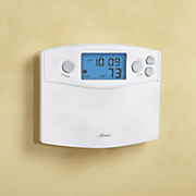 set and save 7 day thermostat by hunter