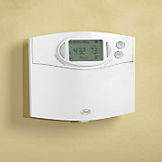 comfort saver 7 day room control thermostat by hunter