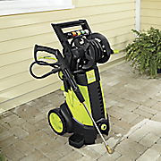 pressure washer by sun joe
