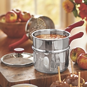 4 pc  double boiler steamer 15