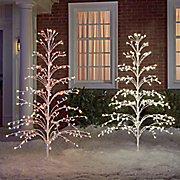 christmas light tree