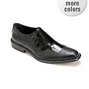 3 button slip on shoe by giorgio brutini