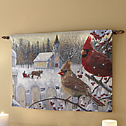 fiber optic white christmas wall hanging