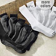 6 pair pack men s dri tech crew socks