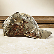running buck realtree baseball cap by dri duck