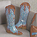 Heather Cowboy Boot