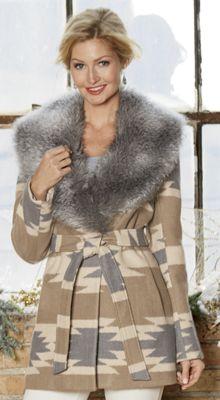 Novelty Belted Coat