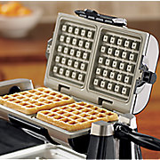 ginny s brand rotating double waffle maker