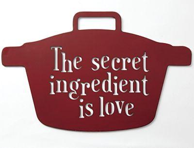 Secret Ingredient Wall Art