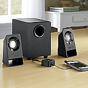 2 1 channel speaker system by logitech