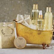vanilla scented spa kit