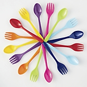 16-Piece Melamine Flatware Set