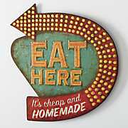 eat here sign