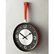 fry pan clock 37