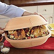 romertopf 3 qt  clay casserole dish