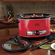 Ginny's Brand 8-Qt. Oval Slow Cooker