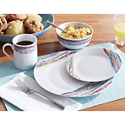 16 pc  porcelain dinnerware set