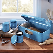 4 pc  breadbox   canister set