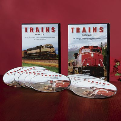 Trains 10-DVD Set