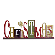 christmas cutout shelf sign