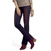 Overdyed Slim-Leg Jean