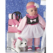 dress like me doll and puppy set