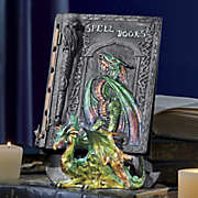 dragon spell journal with stand
