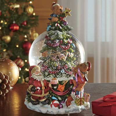 Christmas Tree Globe