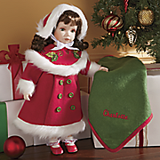 personalized holly doll