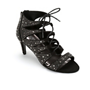 women s lace front studded heel by monroe and main