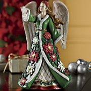 lighted christmas angel