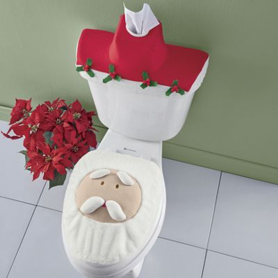Holiday Toilet Cover