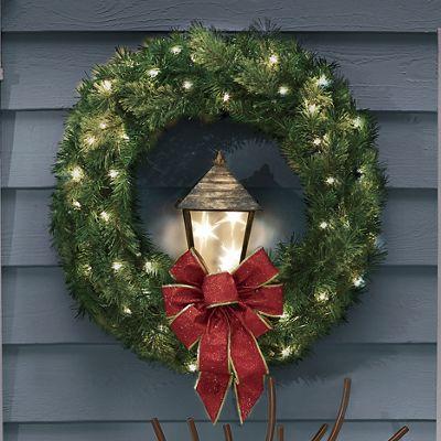 Wreath with Lantern