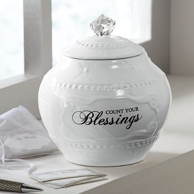 Blessing Jar with 36 Blessing Cards