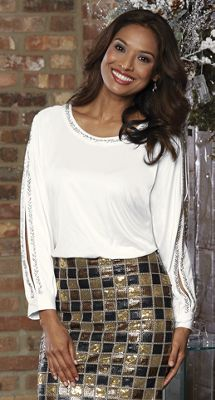 Bead Party Blouse