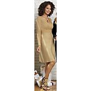 Gold Bar Sweater Dress
