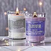full of grace candle