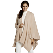 Cool Neutral Poncho