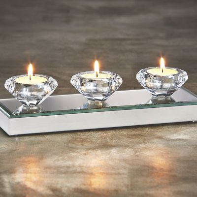 Diamond Tealight Votive Holder