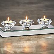 diamond tealight votive holder