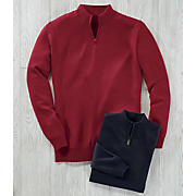 men s classic fit 1 4 zip sweater