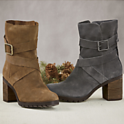 Women's Malvet Doris Suede Boot by Clarks