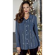 beaded pocket blouse 9
