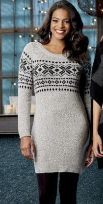 Snowflake Sweater Tunic