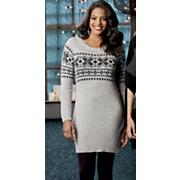 snowflake sweater tunic
