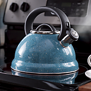 mr coffee 2 75 qt  speckled tea kettle