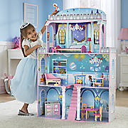 2 in 1 fantasy dollhouse with furniture