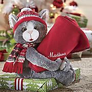 Personalized Kitten Blanket Hugger